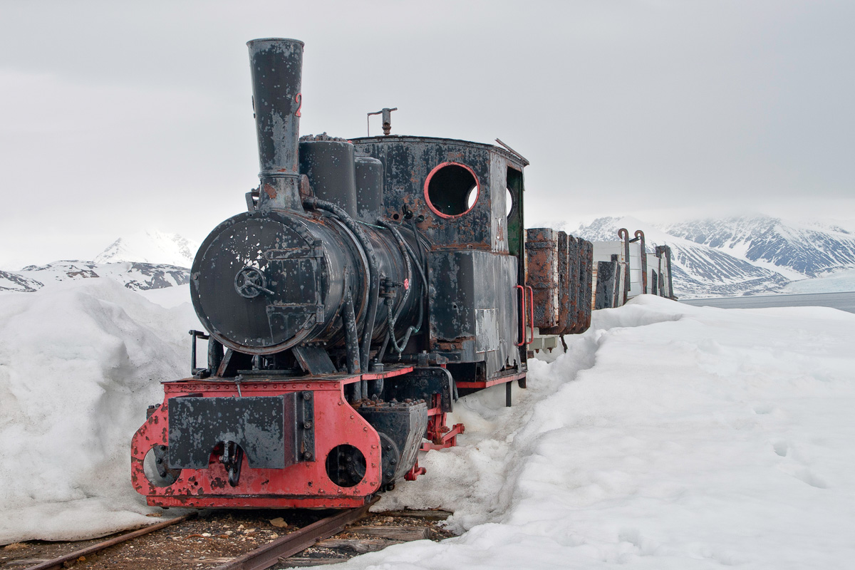 Un tren a 79º Norte